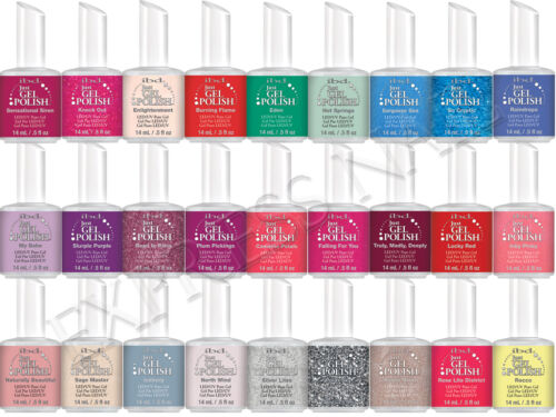 IBD Just Gel Polish LED / UV Pure Gel 0.5oz / 14ml JustGel PART 3/4