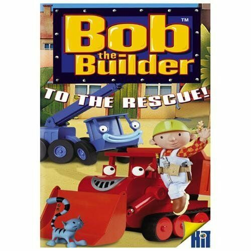 Sealed BOB THE BUILDER - TO THE RESCUE! NEW DVD with Free Shipping