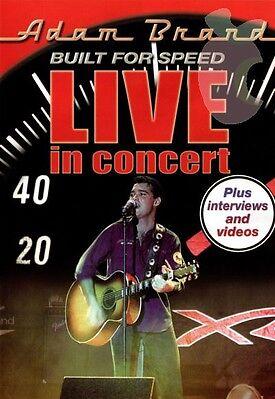 Adam Brand - Built For Speed - Live In Concert (DVD, 2008)
