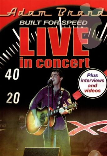 Adam Brand - Built For Speed - Live In Concert (DVD, 2008)