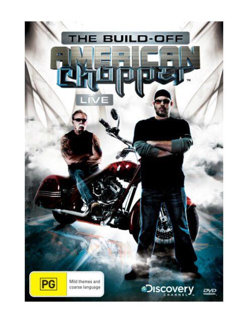 American Chopper Live - The Build Off (DVD, 2012) Region 4 Reality DVD Like NEW