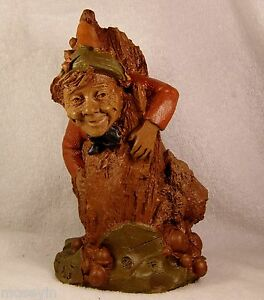STUCK-1983-Tom-Clark-Gnome-Figurine-Cairn-Studio-Item-302-Retired-Ed-98-Story