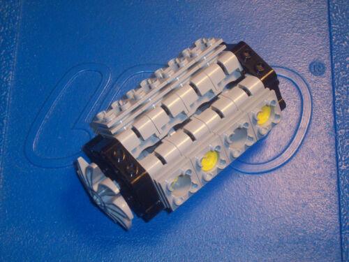 Lego Technic V8 Engine Kit Motor Piston Cylinder Fan