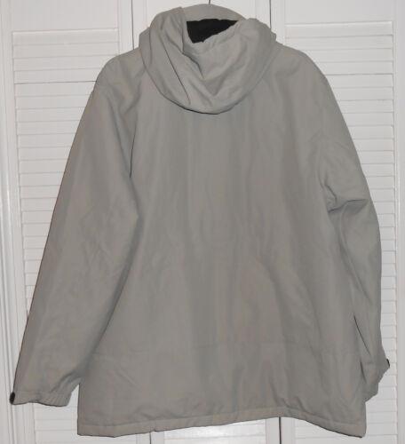 867e415ff42ff0 Nwt Lined Jacket Weatherproof Xl Hooded Microfiber Sixe Brand Bone qxx8T7wza