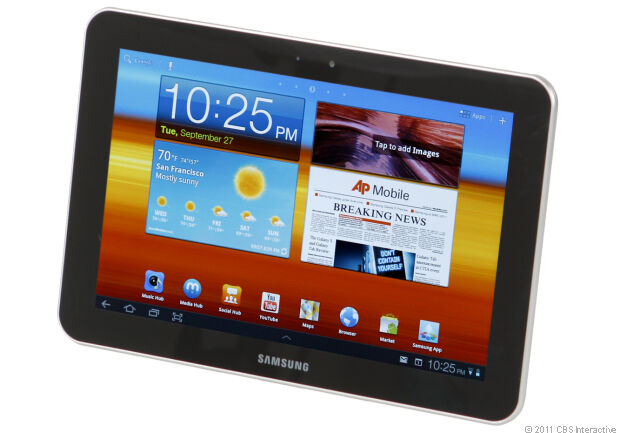 Samsung Galaxy Tab GT-P7310/M32 32GB, Wi-Fi, 8.9in - Metallic Gray