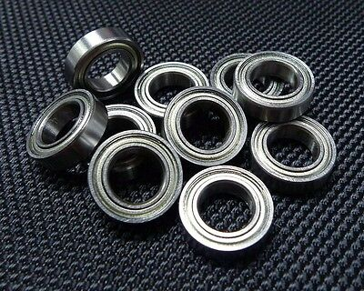 MR148ZZ (8x14x4 mm) Double Metal Shielded Ball Bearing (PICK YOUR QUANTITY)