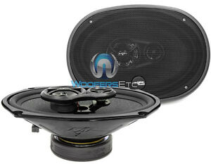 "SKAR AUDIO RPX69 COAXIAL 6X9"" 270 WATTS MAX 3-WAY CAR SPEAKERS NEW"