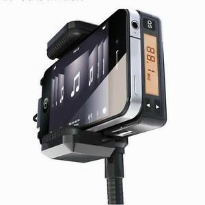 New-CAR-Veicle-FM-Transmitter-Charger-DOCK-HOLDER-for-iPhone-iPod-3G-4G-3-4-MP3