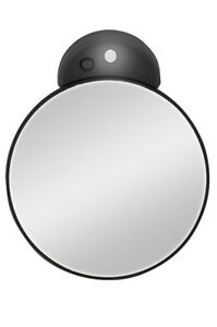 Zadro 10x Magnification Spot Mirror W Led Light Amp Suction