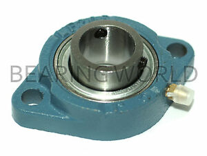 NEW-SBLF205-16G-High-Quality-1-034-Set-Screw-Bearing-with-2-Bolt-Flange