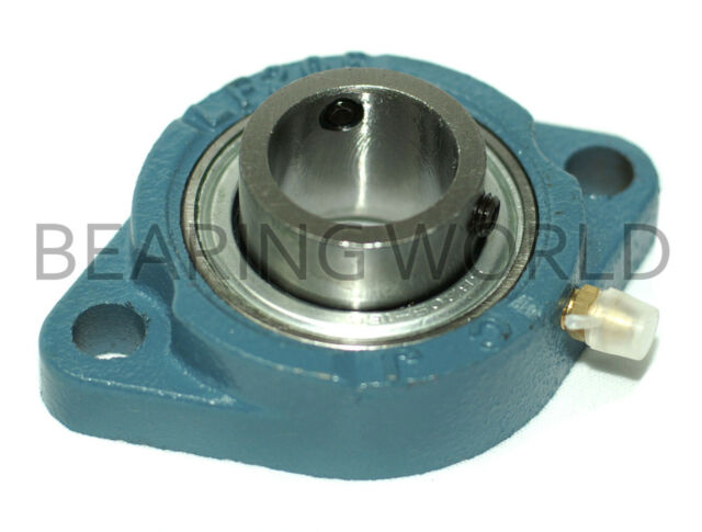 """NEW SBLF205-15G  High Quality 15/16"""" Set Screw Bearing with 2 Bolt Flange"""