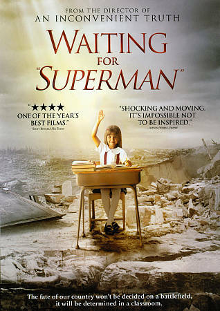 """NEW - Waiting for """"Superman"""" DVD plus FREE BONUS GIFT:Community Discussion Guide"""
