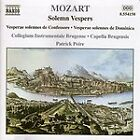 Wolfgang Amadeus Mozart - Mozart:Solemn Vespers/Dixit & Magnificat (2000)