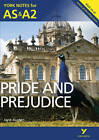 Pride and Prejudice: York Notes for AS & A2 by Laura Gray, Martin Gray (Paperback, 2013)