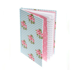 Pretty Patchwork & Floral Print Notebook - Small Vintage Womens / Girls Journal