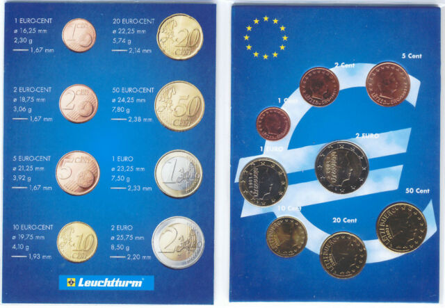 Luxembourg 2009 - Set of 8 Euro Coins (UNC)