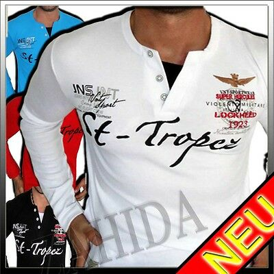 Herren Sweatshirt Hoodie Longsleeve Langarmshirt DESIGN TRENDY S M L XL XXL NEU