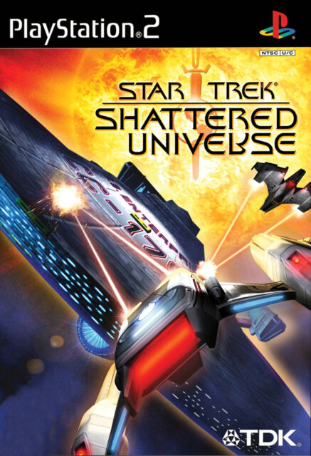 Star Trek: Shattered Universe PS2 Playstation 2
