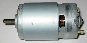 770 Size Electric Robot Motor 12 Vdc 50 Watt 10000