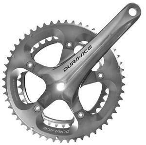 Shimano-Dura-Ace-7800-Double-39-53-10sp-172-5mm-Chain-Set-Crank-Set-Chainwheel