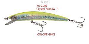 Yo-Zuri-Crystal-Minnow-F-11cm-11gr-COLORE-GHCS-BASS-MARE-LUCCI