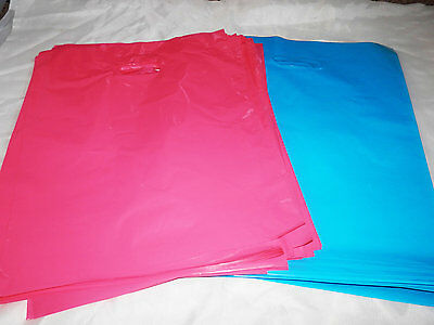 100 9x12 Multi Color Assoerted Plastic Merchandise Bags Party Favor Gift Bags
