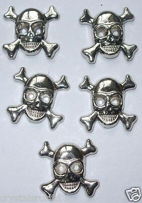 GOTHIC NAILHEAD STUD BEAD IRON-ON PUNK METAL CRAFT TSHIRT TRANSFER EMBELLISHMENT