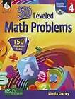 50 Leveled Problems, Level 4 by Linda Dacey (Mixed media product, 2012)