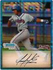2009 Bowman Chrome Prospects Blue Refractors Luis Sumoza Atlanta Braves #BCP31 Baseball Card