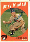 1959 Topps Jerry Kindall Chicago Cubs #274 Baseball Card