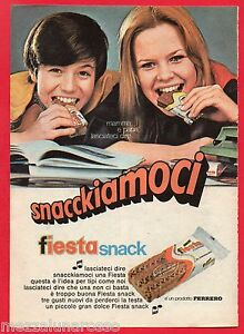 Pubblicita-Advertising-FERRERO-FIESTA-SNACK-1970