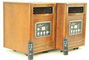 2-Brand-New-iLiving-Infrared-Quartz-Space-Heater-1500W-USA-USA-USA