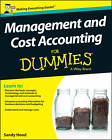 Management and Cost Accounting For Dummies by Mark P. Holtzman, Sandy Hood (Paperback, 2013)