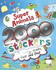 2000 Stickers Super Animals by Parragon Book Service Ltd (Paperback, 2013)