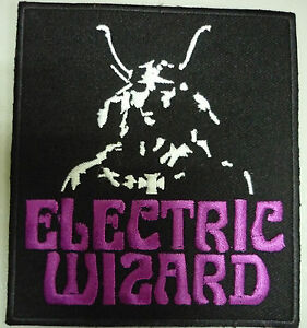 ELECTRIC-WIZARD-embroidered-patch-Black-Sabbath-Ghost-Blood-Ceremony