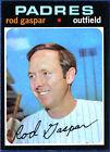 1971 Topps Rod Gaspar San Diego Padres #383 Baseball Card