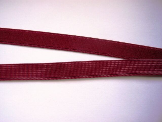 11mm Plush back elastic- different colours & lengths available & reels