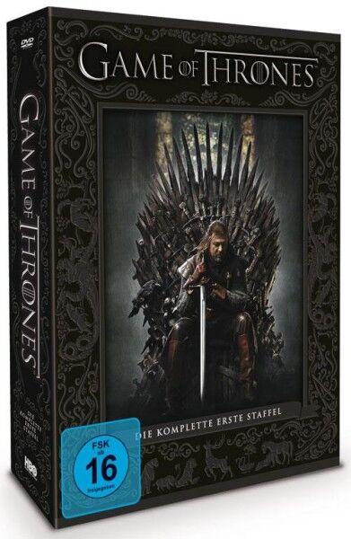 Game of Thrones - Staffel 1 (DVD) - limitierte Edition mit Fotobuch