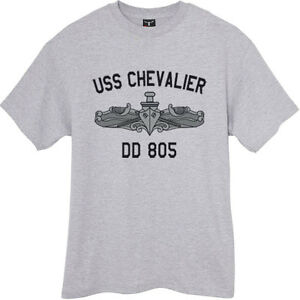 US-USN-Navy-USS-Chevalier-DD-805-Destroyer-T-Shirt