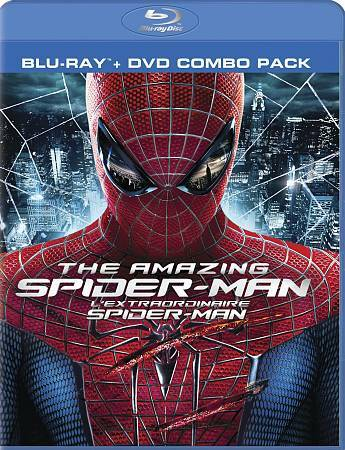 The Amazing Spider-Man (DVD, 2012, Canadian Blu-ray 2012)