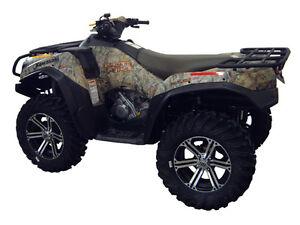 KAWASAKI-BRUTE-FORCE-750-2012-EFI-ATV-OVER-FENDERS-FLARES-MUD-GUARDS-CUSTOM-FIT
