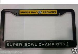 Green-Bay-Packers-License-Plastic-Frame-Super-Bowl-XLV