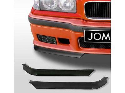 2 LAME SPOILER AVANT POUR BMW SERIE 3 E36 2P 4P AVEC PARE CHOC M3 LOOK  M3 GT