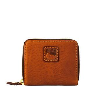 Dooney-Bourke-Florentine-Small-Zip-Around-Wallet-Chestnut