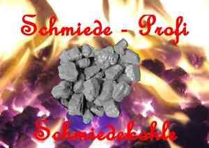 Schmiedekohle-30-Kg-Fettnuss-IV-Schmiedewerkzeug-Gesenk-Amboss-Schmiede-Kohle