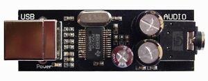 MINI-PCM2704-HI-FI-USB-DAC-SOUND-CARD-BOARD-hi-fi-ELNA-Capacitance-for-it