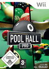Pool Hall Pro (Nintendo Wii, 2009, DVD-Box)