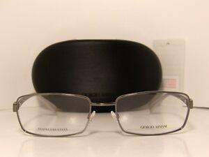 Eyeglass Frames In Qatar : New Authentic Giorgio Armani Stainless Steel Eyeglasses GA ...