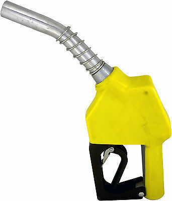"""ZL-11A Yellow Stainless 3/4"""" 15/16""""Automatic Fueling Nozzle Gas Diesel Biodiesel"""