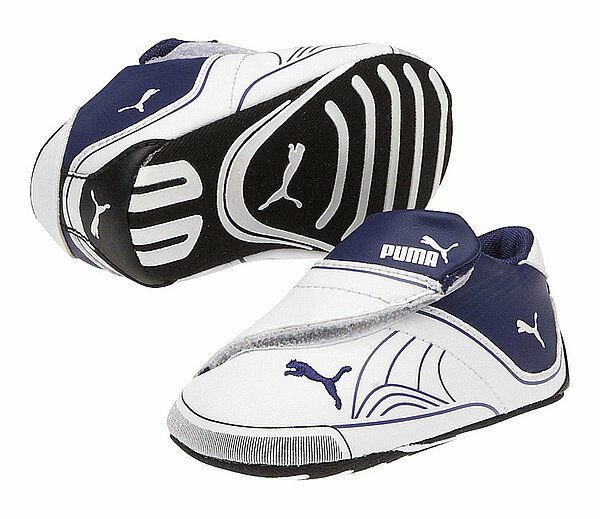 Crib Puma Future Cat Remix LW 30349302 White Blue 100% Authentic Brand New
